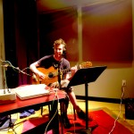 sean clute on acoustic guitar