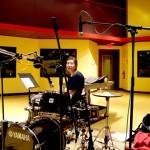 shayna dunkelman on drumset